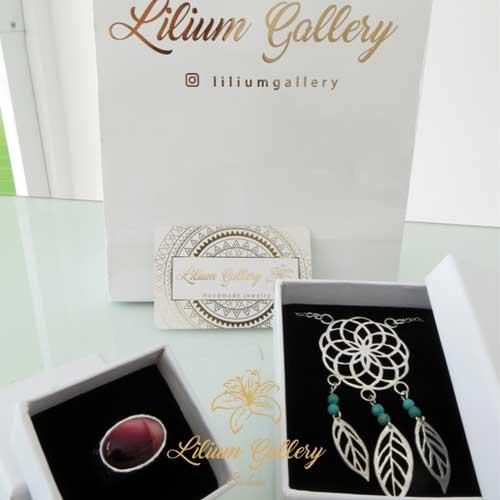 آویز Dream Catcher,آویز دست ساز,نقره,گالری لیلیوم,طراحی طلا و جواهر,دریم کچر