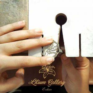 گردنبند نقره شعر,دست ساز,طراحی طلا و جواهر