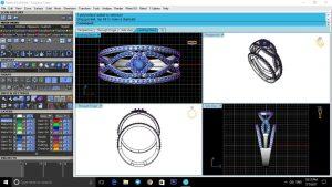 طراحی 3D طلا و جواهر,سفارش ساخت طلا,طراحی سه بعدی طلا